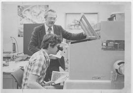 British Columbia Institute of Technology - Bill Tupper, Surveying Instructor - c.1980 - published...