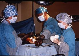 Advanced critical care studies, operating room, December 13, 1987 [8 of 9 photographs]