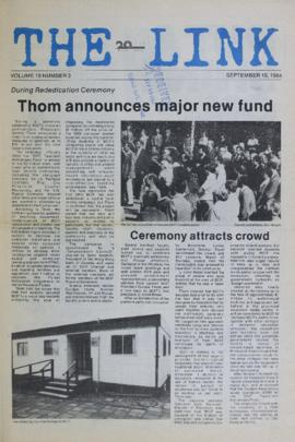 The Link Newspaper 1984-09-19