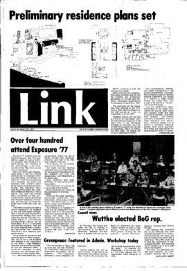 The Link Newspaper 1977-04-27