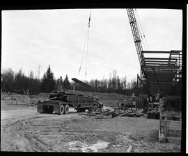 1960's Early construction of BCIT campus and buildings [3 of 21 photographs]