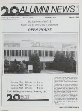 BCIT Alumni Association Newsletter 1984 Spring Alumni News