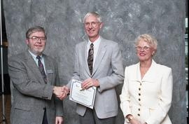 BCIT Staff Recognition Awards, 1996 ; Robert Merriam, 10 years
