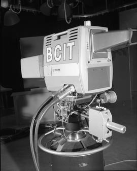 British Columbia Institute of Technology Broadcasting ; 1960s ; video camera