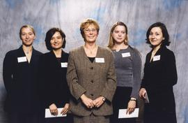 BCIT Alumni Association Entrance Awards, Nov. 7, 2001; Brenda Dumont, VP, BCIT Alumni Assoc., Boa...