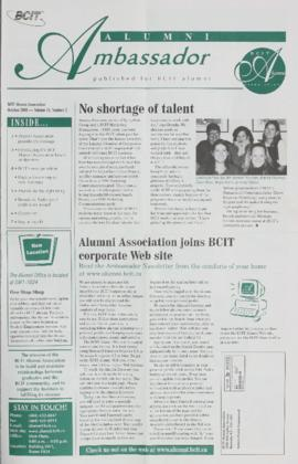 BCIT Alumni Association Newsletter 2000-10 Alumni Ambassador