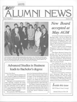 BCIT Alumni Association Newsletter 1990 Summer BCIT Alumni News