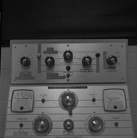 Medical radiography; control panel for an x-ray generator [1 of 2]