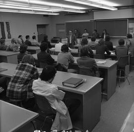 BCIT Programs Forestry Technology ; lecture panel of instructors and students [1 of 2]