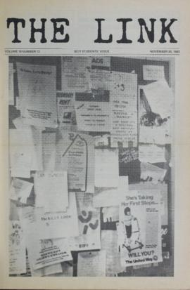 The Link Newspaper 1983-11-30