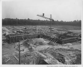 British Columbia Institute of Technology - Library building start of construction - 1967 September