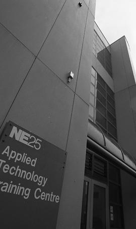 NE25 Applied Technology Training Centre, photographs of building, 1995 [12 of 17 photographs]