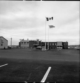 BC Vocational School Dawson Creek Campus ; exterior of the Culinary Training and B.T.S.D. building