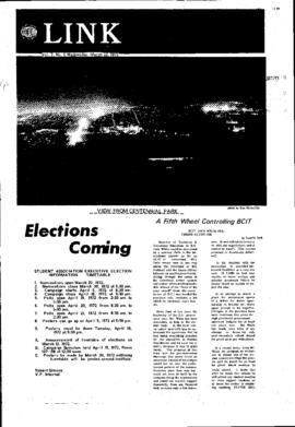 The Link Newspaper 1972-03-22