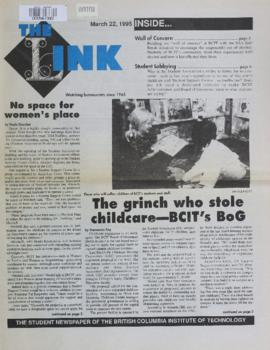 The Link Newspaper 1995-03-22