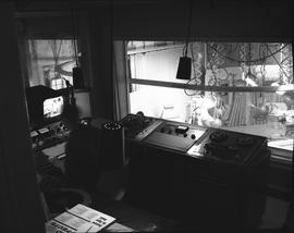 BCIT Broadcast and Television, 1964; television broadcast control room