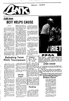 The Link Newspaper 1973-02-22