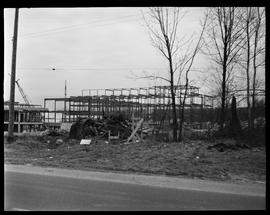 1960's Early construction of BCIT campus and buildings [6 of 21 photographs]