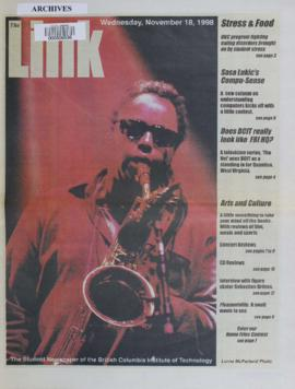 The Link Newspaper 1998-11-18