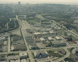 BCIT Burnaby campus aerial photograph [7 of 8]