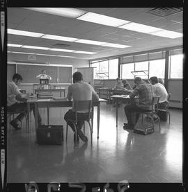 BC Vocational School image of Aeronautical students and an instructor in a classroom [3 of 4 phot...