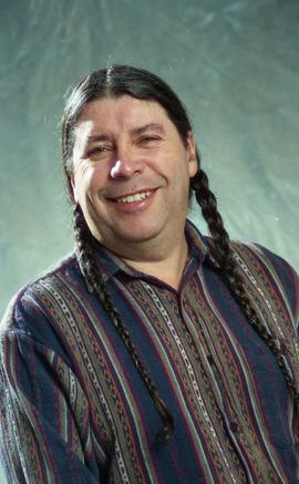 First Nations staff portraits, unnamed male 5 [3 of 6 photographs]
