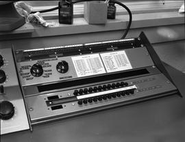 British Columbia Institute of Technology Broadcasting ; 1960s ; an audio console