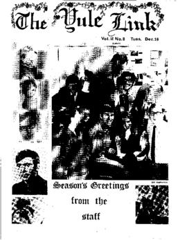 The Link Newspaper 1969-12-16