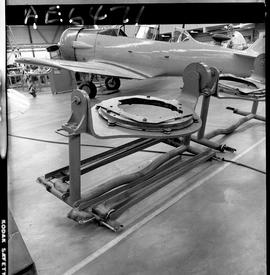 BC Vocational School image of aircraft engine parts inside the hangar in Burnaby [2 of 4 photogra...
