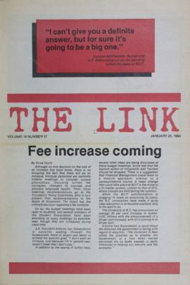 The Link Newspaper 1984-01-25