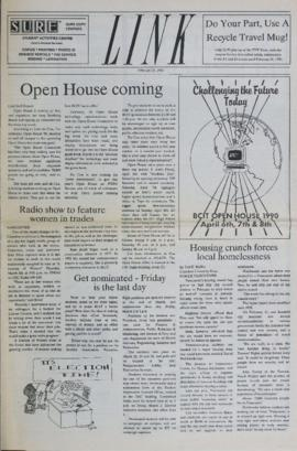 The Link Newspaper 1990-02-28