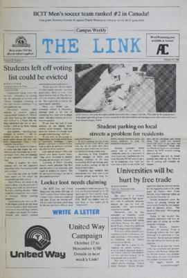 The Link Newspaper 1988-10-19