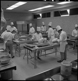 BC Vocational School Baking Course ; students working in the kitchen [3 of 3]