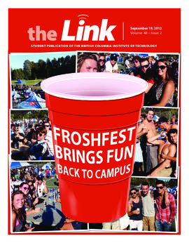 The Link Newspaper 2012-09-19