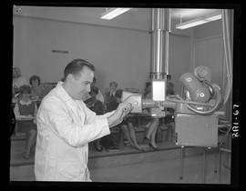 British Columbia Institute of Technology - program photographs - 1960's - Medical Radiography Rad...