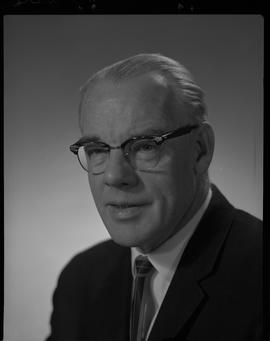 Irvine, Lawrence (Laurie), Broadcast Communication, Staff portraits 1965-1967 (E) [4 of 4 photogr...
