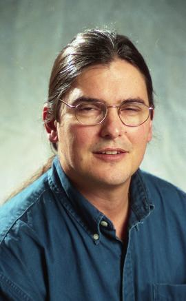 First Nations staff portraits, unnamed male 4 [2 of 5 photographs]