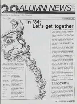 BCIT Alumni Association Newsletter 1983 Fall/Winter BCIT Alumni News