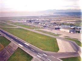 Aerials - aerospace campus - runway