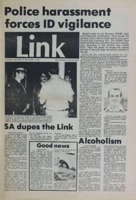 The Link Newspaper 1979-11-07