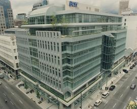 BCIT downtown campus building photograph