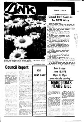 The Link Newspaper 1973-03-15