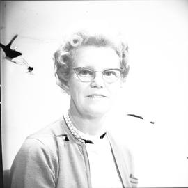 Berg, Ruth, Acquisitions, Library, BCIT, Staff portraits 1965-1967 (E) [8 of 8]