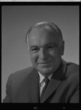 Turnbull, Malcolm (Mac), Stores Manager, Staff portraits 1965-1967 (E) [1 of 5 photographs]