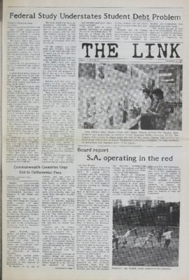 The Link Newspaper 1987-11-04