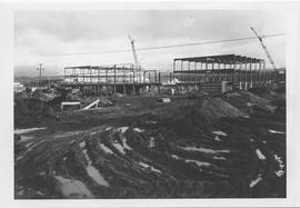 British Columbia Institute of Technology - early building construction - 1964