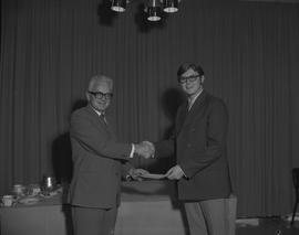Student Scholarship Awards, BCIT, 1970 [17]