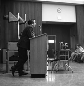 CVA Convention, 1969 ; man standing at a podium [3 of 6]