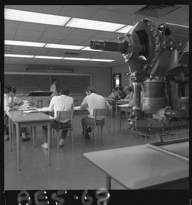 BC Vocational School image of Aeronautical students and an instructor in a classroom [1 of 4 phot...