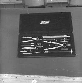 BCIT Programs Forestry Technology ; a set of drawing compasses and map drawing tools [2 of 2]